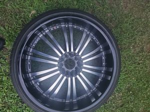 Crave 2 22 inch rims for Sale in Federalsburg, MD