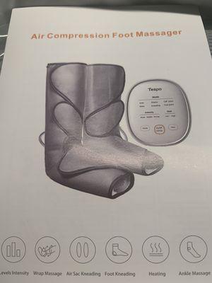 Tespo air compression Foot massager for Sale in Renton, WA