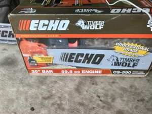 "ECHO ""20 BAR GAS CHAINSAW for Sale in Austin, TX"