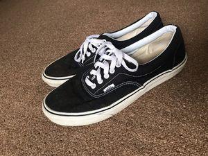 Men Black Vans Authentic Skate Shoe for Sale in Honolulu, HI