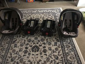 Graco 2LX car seats and 2 bases almost new for Sale in Alameda, CA