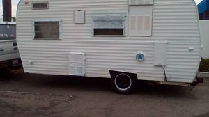 Camper trailer 4 sale vintage 66 for Sale in Los Angeles, CA