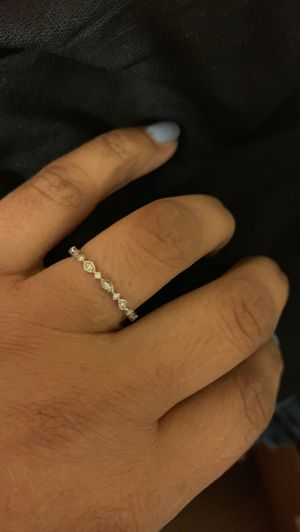 White gold and diamond rings for Sale in Portland, OR