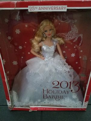 25th Anniversary Holiday 2013 Barbie Doll Special Collectors Edition for Sale in Anaheim, CA