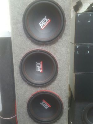 3 10 sub boxes..... for Sale in OH, US