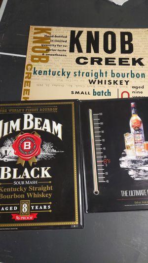 Alcohol Liquor Metal Signs for Sale in Wichita, KS