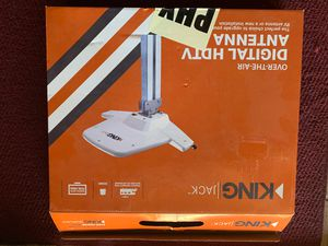 King Jack Digital Tv Antenna Hdtv Over The Air Vhf Uhf Signal Rv Trailer for Sale in Peoria, AZ