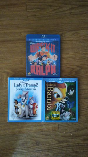 Disney Movies [Blu-ray] for Sale in Austin, TX