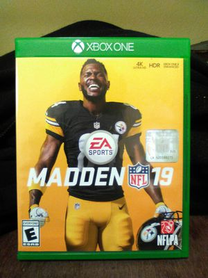 Madden 19 Xbox one game for Sale in Hemet, CA