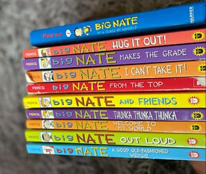 BIG NATE BOOK'S for Sale in Revere, MA