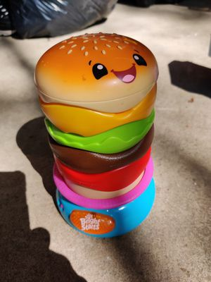 Kids bright starts hamburger toy for Sale in Erie, PA