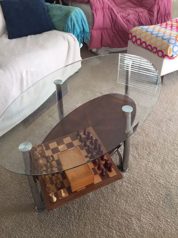 Coffee and side table, $80.00 for both, night stands are free (smoke and pet free apt)