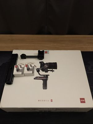 New Zhiyun Weebill S with accessories for Sale in Holiday, FL