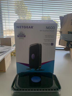 Netgear n600 wireless router for Sale in Long Beach, CA