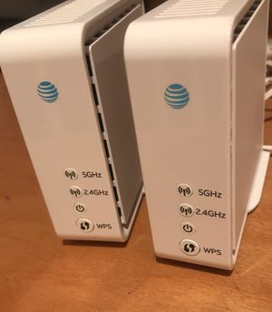 Two AT&T WiFi extenders for Sale in Chula Vista, CA