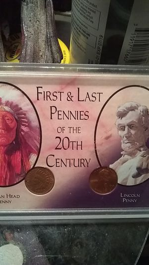 First and last cents 20th century set for Sale in Kingsport, TN