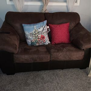 Dark Brown Couch/ Pillows Are Not Included for Sale in Beaverton, OR