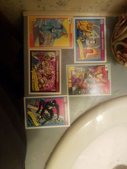 1990 Marvel Comics Trading Cards for Sale in Stagecoach, TX