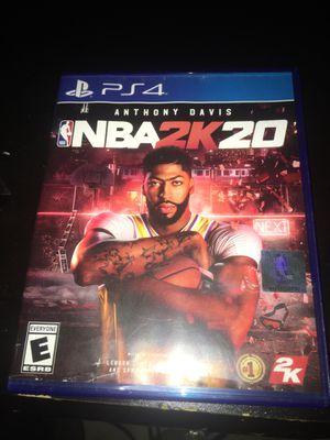 NBA 2k20 for Sale in Lakewood, WA