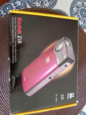 Kodak Z18 pocket Video Camera for Sale in Pittsburgh, PA