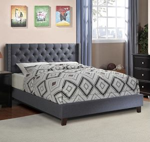 Queen bed frame new in the box with the mattress for Sale in Davie, FL