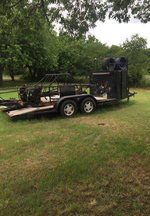 trailer and race car frame for Sale in Ferris, TX