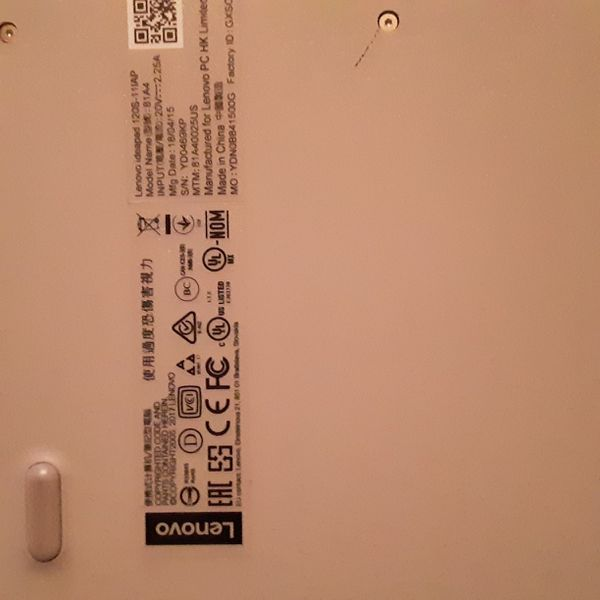 Small Lenovo Silver laptop with charger *READ ALL DETAILS FIRST AND LOOK AT ALL PICS PLEASE *