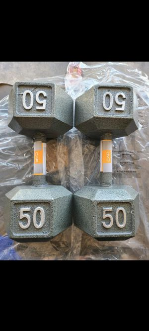 50lb Dumbells New for Sale in Garden Grove, CA