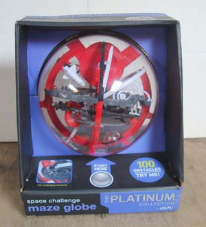 NEW Space Challenge Maze Globe by Shift - Brain Teaser Puzzle Game for Sale in Chula Vista, CA