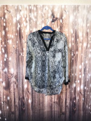 Zara XS Snake Print Tunic Extra Small for Sale in Littleton, CO