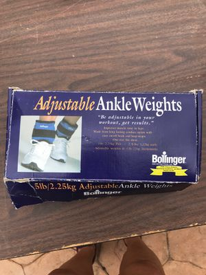 Ankle weights / 5 lb for Sale in Miami, FL