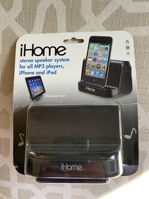 iHome stereo Speaker system for all MP3 players for Sale in Westmont, IL