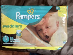 Pampers Swaddlers for Sale in Baltimore, MD