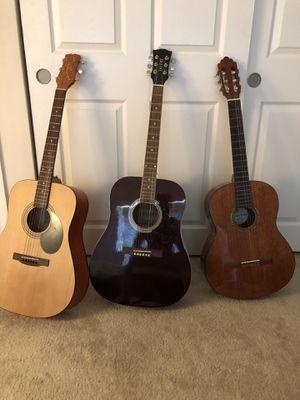 Guitar bundles 3 of 3 for Sale in Hyattsville, MD