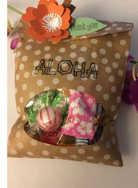 Moana goodie bags