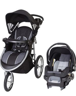 Baby Trend Pathway 35 Jogger Travel System, Optic Grey for Sale in Las Vegas, NV