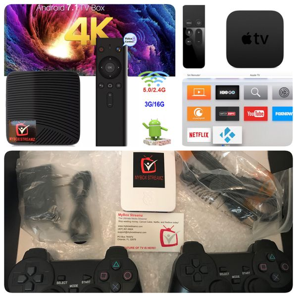 ***Android TV***Retro Games System***Apple TV***