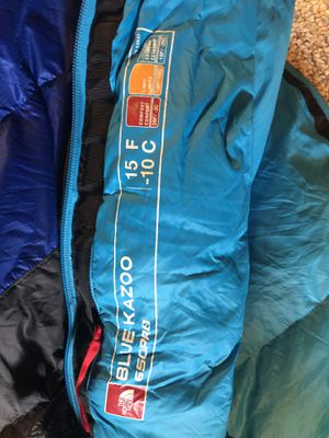 15 degree North face sleeping bag for Sale in Wenatchee, WA