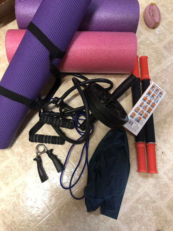 Working out/ Stretching equipment
