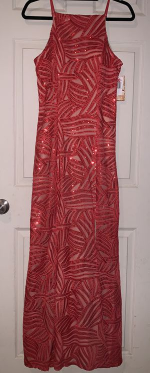 New Coral/Nude Formal Dress with Slit for Sale in Vista, CA