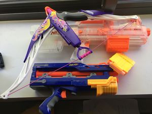 Nerf Gun & Bow for Sale in McGuire Air Force Base, NJ