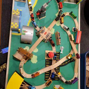 Thomas Train - Table, tracks, buildings & trains for Sale in Oak Park, IL