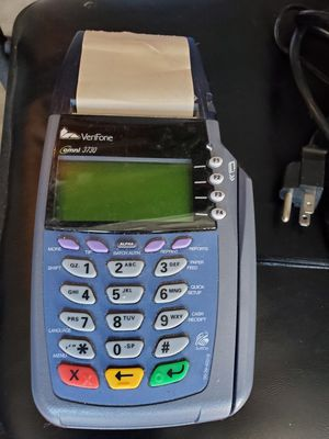 Verifone 3730 credit card machine for Sale in Somerset, NJ