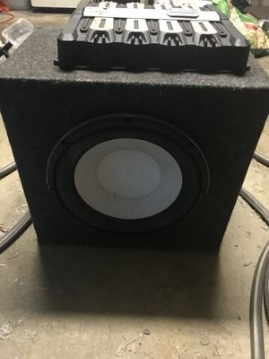 12inch Infinity Kappa Perfect Subwoofer for Sale in Aspen Hill, MD