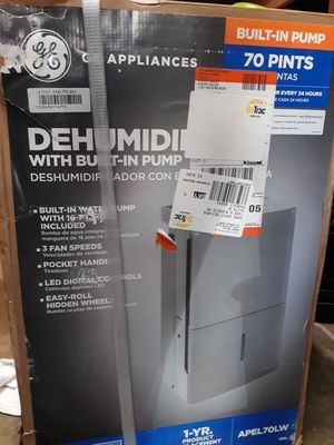 DEHUMIDIFIER / with built -in pump for Sale in Baldwin Park, CA