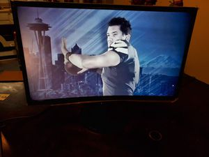 """Samsung 24"""" LED Curved Monitor for Sale in Landover, MD"""