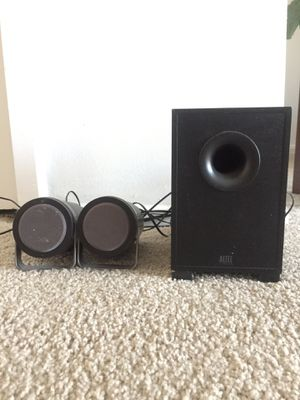 Altec speakers & subwoofer for Sale in Los Angeles, CA