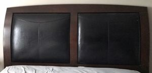 Cherry California King bed frame for Sale in Buffalo, NY