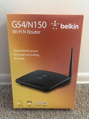 Belkin wi-fi N router for Sale in Archdale, NC