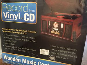 Cd cassettes radio MP3 player for Sale in Rockville, MD